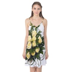 Bouquet Flowers Roses Decoration Camis Nightgown