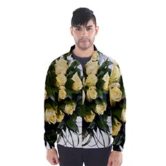 Bouquet Flowers Roses Decoration Wind Breaker (men)