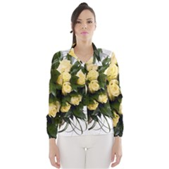 Bouquet Flowers Roses Decoration Wind Breaker (women)