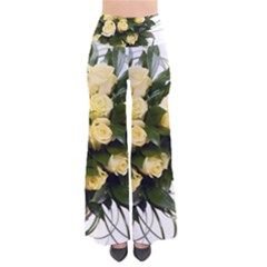 Bouquet Flowers Roses Decoration Pants