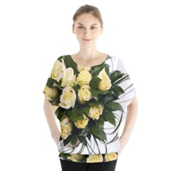 Bouquet Flowers Roses Decoration Blouse