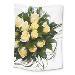 Bouquet Flowers Roses Decoration Medium Tapestry