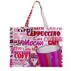 Coffee Cup Lettering Coffee Cup Mini Tote Bag
