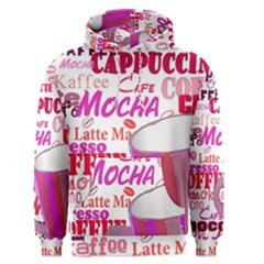Coffee Cup Lettering Coffee Cup Men s Pullover Hoodie