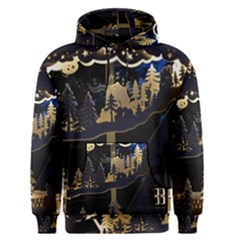 Christmas Advent Candle Arches Men s Pullover Hoodie