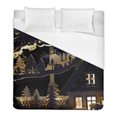 Christmas Advent Candle Arches Duvet Cover (full/ Double Size)