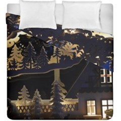 Christmas Advent Candle Arches Duvet Cover Double Side (king Size)