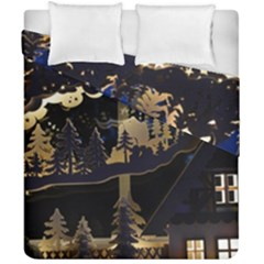 Christmas Advent Candle Arches Duvet Cover Double Side (california King Size)