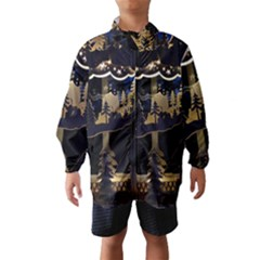 Christmas Advent Candle Arches Wind Breaker (kids)