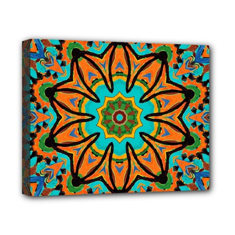 Color Abstract Pattern Structure Canvas 10  X 8