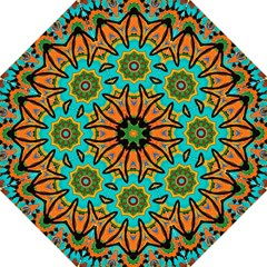 Color Abstract Pattern Structure Folding Umbrellas