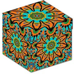 Color Abstract Pattern Structure Storage Stool 12