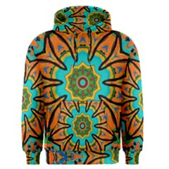 Color Abstract Pattern Structure Men s Pullover Hoodie