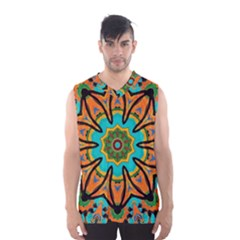 Color Abstract Pattern Structure Men s Basketball Tank Top