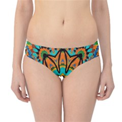 Color Abstract Pattern Structure Hipster Bikini Bottoms
