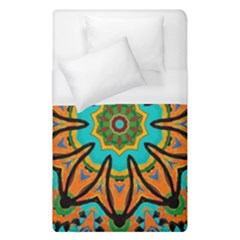Color Abstract Pattern Structure Duvet Cover (single Size)