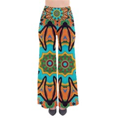 Color Abstract Pattern Structure Pants