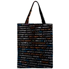 Close Up Code Coding Computer Classic Tote Bag