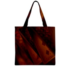 Card Game Mood The Tarot Grocery Tote Bag