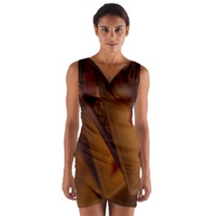 Card Game Mood The Tarot Wrap Front Bodycon Dress