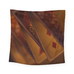Card Game Mood The Tarot Square Tapestry (small)