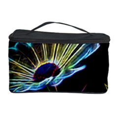 Flower Pattern Design Abstract Background Cosmetic Storage Case
