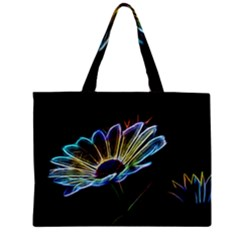 Flower Pattern Design Abstract Background Zipper Mini Tote Bag