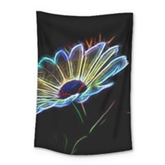 Flower Pattern Design Abstract Background Small Tapestry