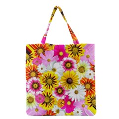 Flowers Blossom Bloom Nature Plant Grocery Tote Bag