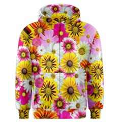 Flowers Blossom Bloom Nature Plant Men s Zipper Hoodie