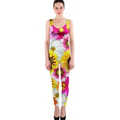 Flowers Blossom Bloom Nature Plant Onepiece Catsuit