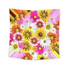 Flowers Blossom Bloom Nature Plant Square Tapestry (small)