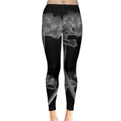 Dog Tube White Night Dark Ice Leggings