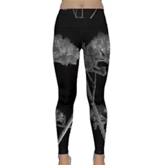 Dog Tube White Night Dark Ice Classic Yoga Leggings