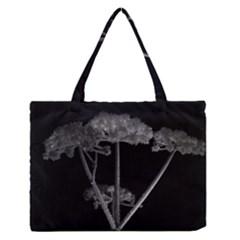 Dog Tube White Night Dark Ice Medium Zipper Tote Bag