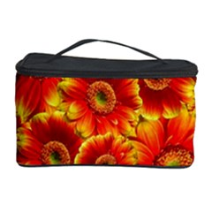 Gerbera Flowers Blossom Bloom Cosmetic Storage Case