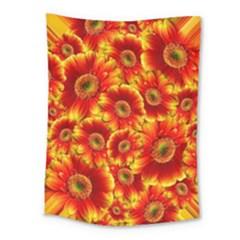 Gerbera Flowers Blossom Bloom Medium Tapestry