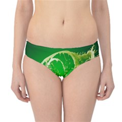 Kiwi Fruit Vitamins Healthy Cut Hipster Bikini Bottoms