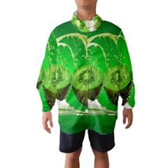 Kiwi Fruit Vitamins Healthy Cut Wind Breaker (kids)
