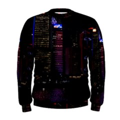Hong Kong China Asia Skyscraper Men s Sweatshirt