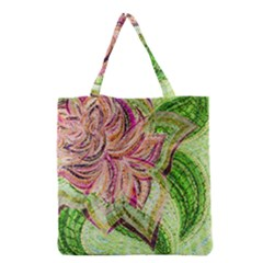 Colorful Design Acrylic Grocery Tote Bag