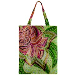 Colorful Design Acrylic Zipper Classic Tote Bag