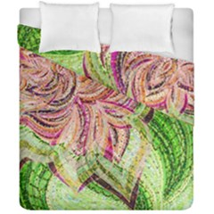 Colorful Design Acrylic Duvet Cover Double Side (california King Size)