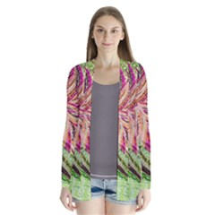 Colorful Design Acrylic Cardigans