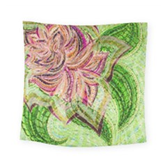 Colorful Design Acrylic Square Tapestry (small)