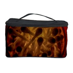 Light Picture Cotton Buds Cosmetic Storage Case