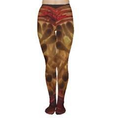Light Picture Cotton Buds Women s Tights