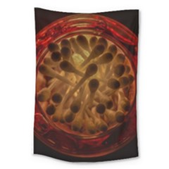 Light Picture Cotton Buds Large Tapestry