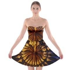 Light Star Lighting Lamp Strapless Bra Top Dress