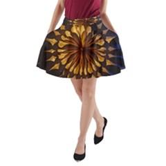 Light Star Lighting Lamp A Line Pocket Skirt